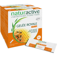 NATURACTIVE Gelée Royale 1500mg Lot de 2 x 15 sticks