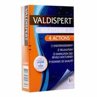 VALDISPERT Mélatonine 1 mg 4 Actions 30 capsules