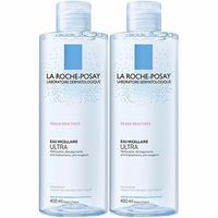 LA ROCHE POSAY Eau micellaire Ultra Lot de 2 x 400ml