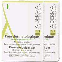 A-DERMA Pain Dermatologique Lot de 2x100g