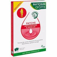 PHYTOSUN AROMS Patchs Articulations et Muscles x3