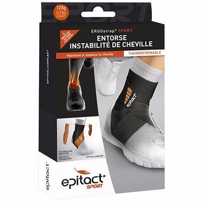 EPITACT SPORT Ergostrap Cheville Taille L