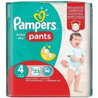 PAMPERS Baby Dry Pants 8-15kg Taille 4 - 23 couches-culottes