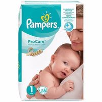 PAMPERS ProCare Premium Protection 2-5kg Taille 1 - 38 Couches