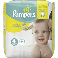 PAMPERS Premium Protection 8-16kg Taille 4 - 24 couches