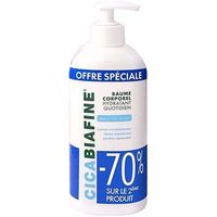 CICABIAFINE Baume Corporel Hydratant Lot de 2 x 400ml