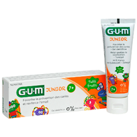 GUM Junior Dentifrice 7 ans et + Tutti Frutti 50ml