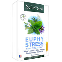 SANTAROME Euphystress 20 ampoules x 10ml