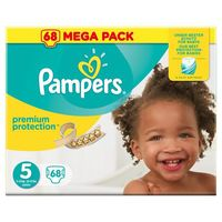 PAMPERS Premium Protection 11-23kg Taille 5 - 68 couches