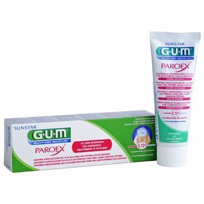 GUM Paroex Gel Dentifrice 75ml