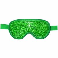 KINECARE Coussin Thermique Masque Oculaire 10x20cm Vert