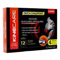 KINECARE Patch Chauffant Multizone 10x13cm x4