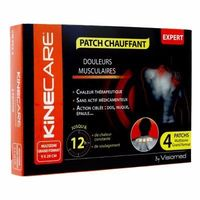 KINECARE Patch Chauffant Multizone 9x29cm x4