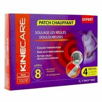 KINECARE Patch Chauffant Règles Douloureuses x4