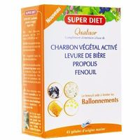 SUPER DIET Quatuor Ballonements 45 gélules
