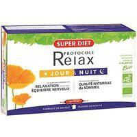 SUPER DIET Protocole Relax 20 ampoules x 15ml
