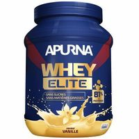 APURNA Whey Elite Isolat Saveur Vanille Pot 750g