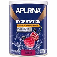 APURNA Boisson Hydratation Fruits Rouges Pot 500g