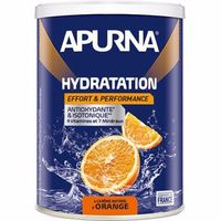 APURNA Boisson Hydratation Orange Pot 500g