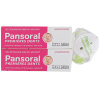 PANSORAL Premières Dents Lot de 2 x 15ml + Attache Sucette