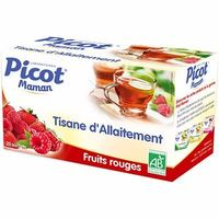 PICOT Maman Tisane d'Allaitement Bio Fruits Rouges 20 sachets