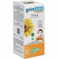 ABOCA GrinTuss Pediatric Toux Sirop 128g