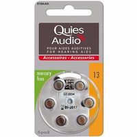 QUIES Audio Piles Modèle 13 x6