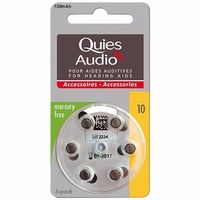 QUIES Audio Piles Modèle 10 x6