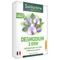 SANTAROME Desmodium 2000 20 ampoules x 10ml