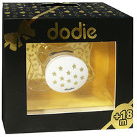 DODIE Sucette Anatomique Silicone +18mois Chic Transparent