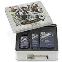 PRORASO Coffret Barbe Azur Lime
