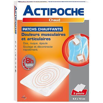 COOPER Actipoche 2 Patchs Chauffants 9,5 x 13 cm