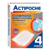 COOPER Actipoche 4 Patchs Chauffants 9,5 x 13 cm