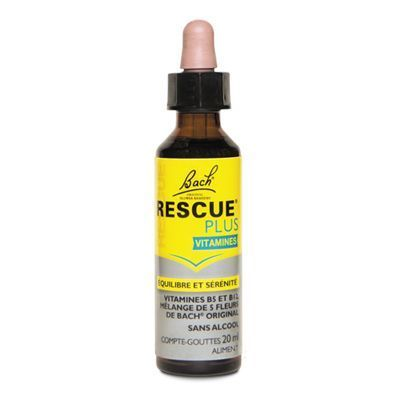 BACH ORIGINAL Rescue Plus Vitamines Compte-gouttes 20ml