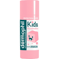 DERMOPHIL INDIEN Kids Stick Lèvres 100% Naturel Chamallow 4g