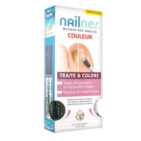 NAILNER Mycose des Ongles Traite & Colore 2x5ml