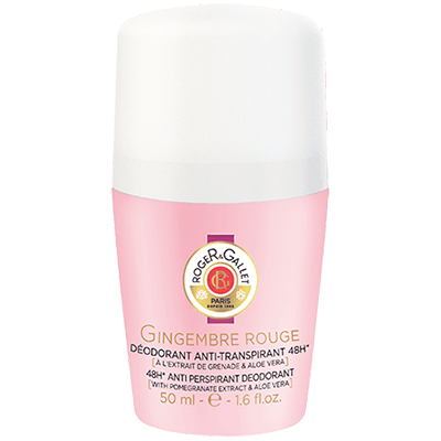 ROGER ET GALLET Gingembre Rouge Déodorant Roll-on 50ml