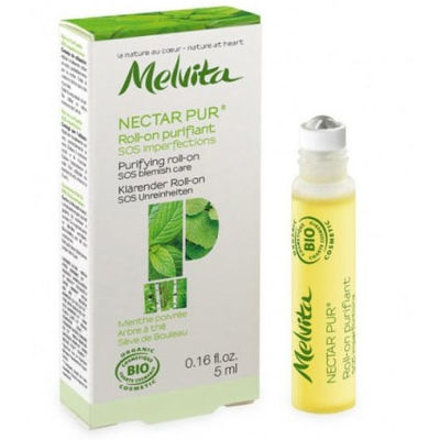 MELVITA Nectar Pur Roll-On Purifiant SOS Imperfections Bio 5ml
