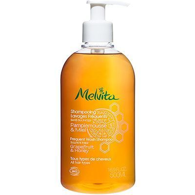 MELVITA Shampooing Lavages Fréquents Bio 500ml