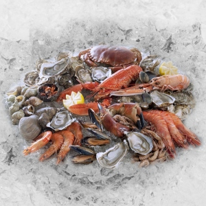 Plateau Fruits de Mer : LE ROYAL