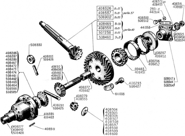 gearbox, differential