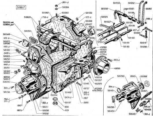 gearbox and clutch