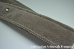 tailored strap blueish velvet grey for 15/6 oléo 54/57 (sold only with a complete set of seats)