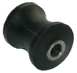 front seat support rubber roll