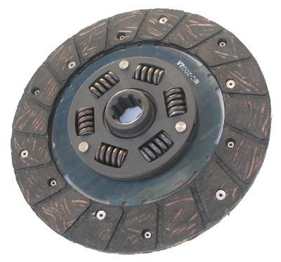 clutch disk to fingers 11CV