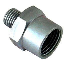 brake hose connector for wheel brake cylinder