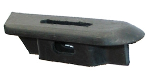 rubber bumper support rear right