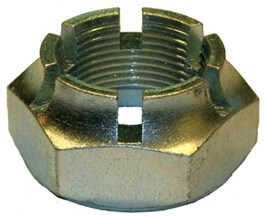 slotted outer drive shaft nut right-hand thread