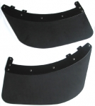 mudflaps rear one pair