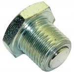 drain plug for sump aluminium (magnetic 11D)